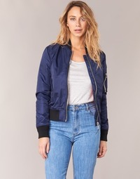 Clothing Women Jackets Schott BOMBER BY SCHOTT Marine