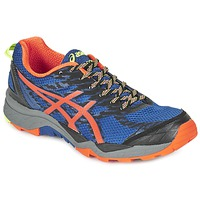 Shoes Men Running shoes Asics GEL-FujiTrabuco 5 Blue