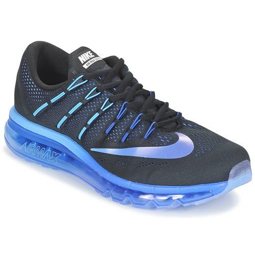 Shoes Men Running shoes Nike AIR MAX 2016 Black / Blue
