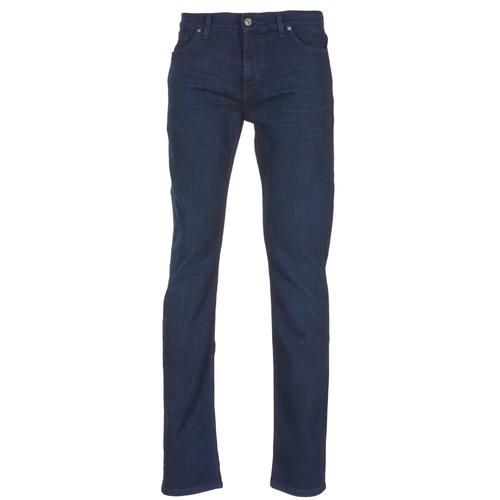 Clothing Men Slim jeans 7 for all Mankind RONNIE WINTER INTENSE Blue / Dark