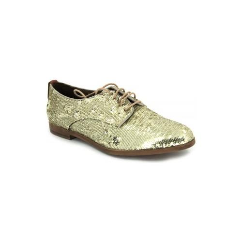 Shoes Women Derby Shoes Elvio Zanon B-0601-X gold