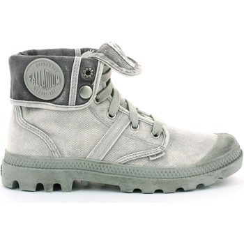 Shoes Mid boots Palladium BAGGY TOILE Gris