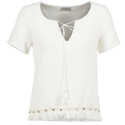 Clothing Women Tops / Blouses Betty London ECHRALE Ecru