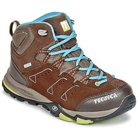 Shoes Children Walking shoes Tecnica CYCLONE III MID TCY JUNIOR Brown / Blue