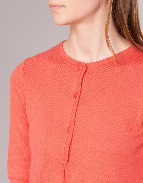 BOTD EVANITOA Orange - Free delivery  ! - Clothing Jackets / Cardigans Women   17.49