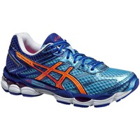 Shoes Women Running shoes Asics Cumulus 16 Orange-Blue-Navy blue
