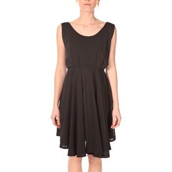 Clothing Women Short Dresses Aggabarti Aggarbati Robe Bretelles 121084 Noir Black