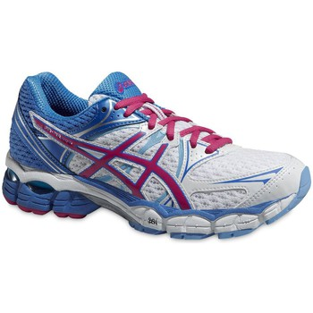 Shoes Women Running shoes Asics Pulse 6 White-Pink-Light blue