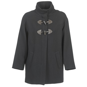 Clothing Women Coats Benetton DILO Black