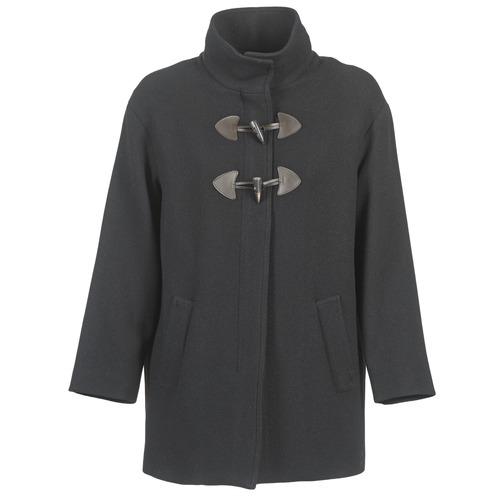 Clothing Women coats Benetton DILO Black