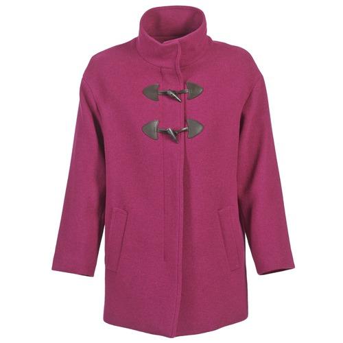 Clothing Women Coats Benetton DILO Pink