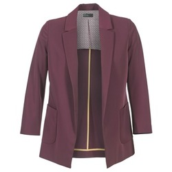 Clothing Women Jackets / Blazers Benetton GULO PRUNE
