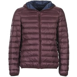 Clothing Men Duffel coats Benetton FOULI Bordeaux / Marine