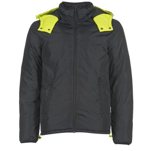 Clothing Men Duffel coats Benetton CUFU Black