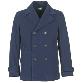 Clothing Men coats Benetton FIMARA Marine