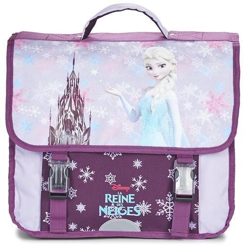 Bags Girl Satchels Disney REINE DES NEIGES CARTABLE 38CM Mauve