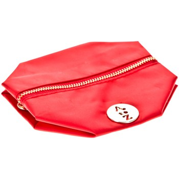 Bags Women Pouches / Clutches Very Bag Street Pochette besace bouton doré Rouge Red