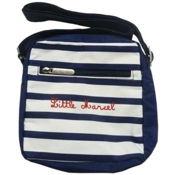 Bags Women Pouches / Clutches Little Marcel Sacoche Aldo Marin Blue