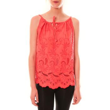 Clothing Women Tops / Sleeveless T-shirts Dress Code Debardeur HS-1019  Rose Pink