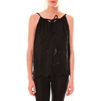 Clothing Women Tops / Sleeveless T-shirts Dress Code Debardeur HS-1019  Noir Black