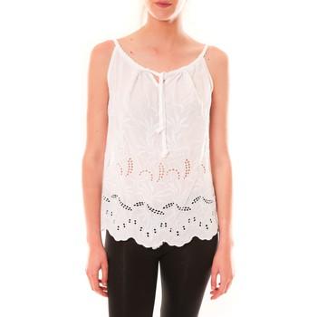 Clothing Women Tops / Sleeveless T-shirts Dress Code Debardeur HS-1019  Blanc White
