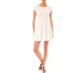 Clothing Women Short Dresses La Vitrine De La Mode Robe LC-0421 By La Vitrine Blanche White