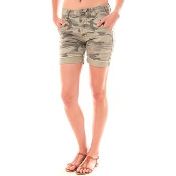 Clothing Women Shorts / Bermudas Dress Code Bermuda RX911  Kaki Green