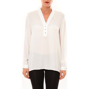 Clothing Women Tops / Blouses La Vitrine De La Mode By La Vitrine Blouse M3060 blanc White