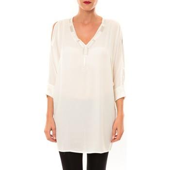 Clothing Women Tunics La Vitrine De La Mode By La Vitrine Tunique LW15002 écru Beige