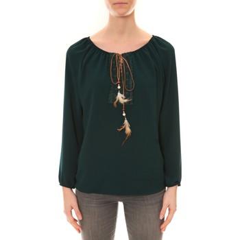 Clothing Women Tunics Dress Code Tunique ZINKA Vert Green