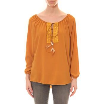 Clothing Women Tunics Dress Code Tunique Zinka Moutarde Yellow