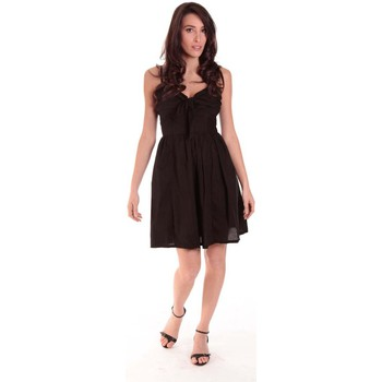 Clothing Women Short Dresses Aggabarti ROBE NOEUD 111029 NOIRE Black