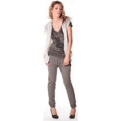 Clothing Women Jackets / Cardigans Rich & Royal Rich&Royal Gilet mohair ABBA Gris 13q154/114 Grey