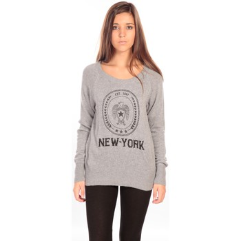 Clothing Women jumpers Charlie Joe Pull Mahuru Grey