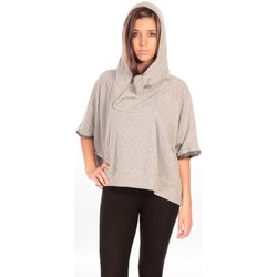 Clothing Women Jackets / Cardigans Charlie Joe Pancho Eden Grey
