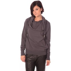 Clothing Women sweaters Rich & Royal Rich&Royal Sweet Look Gris Foncé Grey