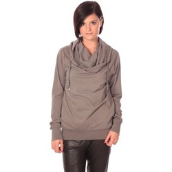 Clothing Women jumpers Rich & Royal Rich&Royal Sweat Look Taupe Brown