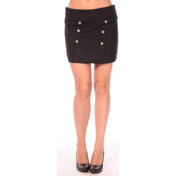 Clothing Women Skirts Aggabarti Jupe Ola 112042 Noir Black