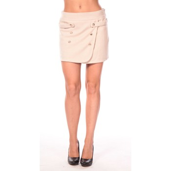 Clothing Women Skirts Aggabarti Jupe Ola 112042 Beige Beige