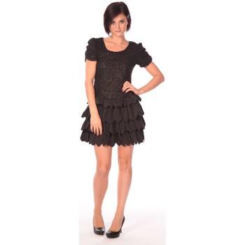 Clothing Women Short Dresses Aggabarti Robe Dora 112009 Black