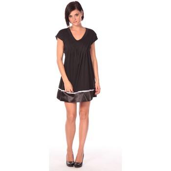 Clothing Women Short Dresses Aggabarti Robe Nancy 112011 Black