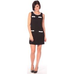 Clothing Women Short Dresses Aggabarti Robe Lola 112014 Black