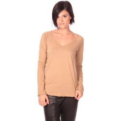 Clothing Women Tunics Charlie Joe Tunique Landez  Beige Beige