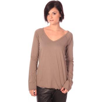 Clothing Women Tunics Charlie Joe Tunique Landez Taupe Brown