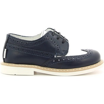 Shoes Boy Derby Shoes Melania ME2136D6E.A Lace-up heels Kid Blu