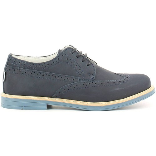 Shoes Boy Derby Shoes Melania ME6021F6E.B Lace-up heels Kid Blue Blue