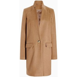 Clothing Women Duffel coats Anastasia - Womens Single Button Smart Coat Beige
