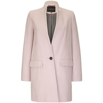 Clothing Women coats Anastasia - Womens Pink Single Button Smart Coat pink