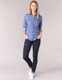 Clothing Women slim jeans Yurban ESQUINE Blue / Raw