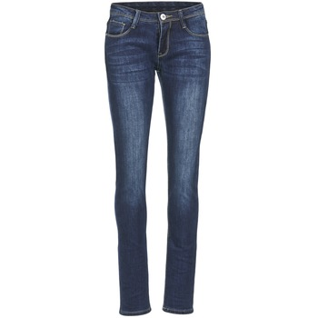 Clothing Women slim jeans Yurban EBANE Blue / MEDIUM